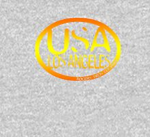 usa los angeles orange tshirt by rogers bros co Unisex T-Shirt