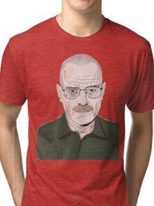 Walt White Tri-blend T-Shirt