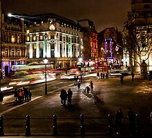Trafalgar Square - London by Ken  Yan