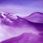 Purple Mountain by Andreas  Berheide