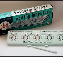 "Sterling ""add-it"" Dial-a-matic Adding Machine by compoundeye"
