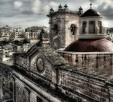 Ancient Rooftops by Stephen Morris