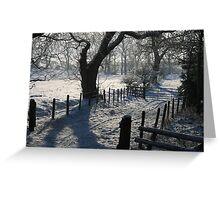 snow way Greeting Card