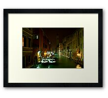 the cops shop Framed Print