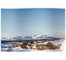 A View To The Pentlands Poster