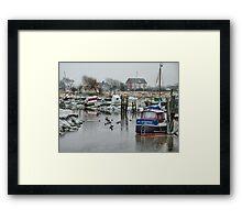 Skippool Creek . Framed Print