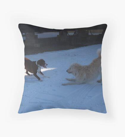 The dareikujy Throw Pillow