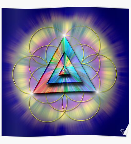 Sacred Geometry 16 Poster