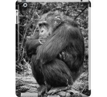 Sulking Chimp! iPad Case/Skin