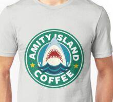 Amity Island Coffee (JAWS) - Starbucks Unisex T-Shirt