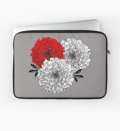 Big Pom Pom Blooming Flowers Laptop Sleeve
