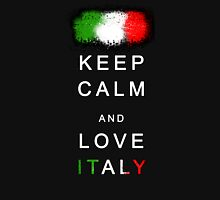 Keep Calm and Love Italy Unisex T-Shirt