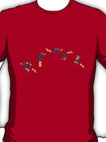 Captain Falcon Moonwalk Knee Neutral T-Shirt