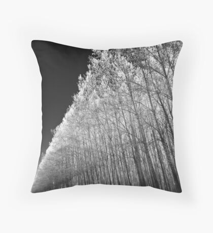 Tree Matrix Throw Pillow