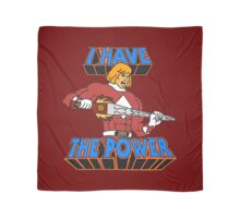 He-Man / Power Rangers 'I Have The Power' Scarf