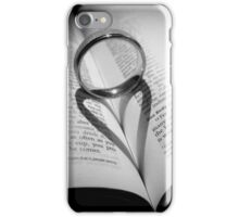 The heart shadow iPhone Case/Skin