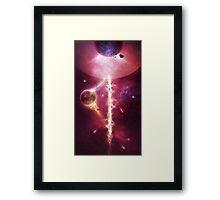 Solar Flux Framed Print