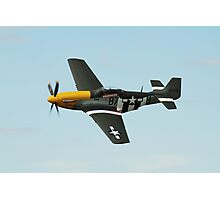 Mustang fighter plane Photographic Print