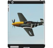Mustang fighter plane iPad Case/Skin