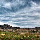 Western Edge of the Flinders Ranges by Jeff Catford