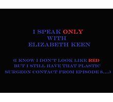 Elizabeth Keen & Surgeon  Photographic Print