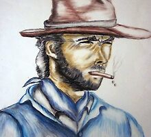 Clint Eastwood by thuraya o