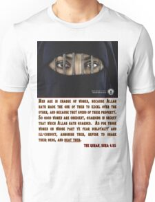 ISHR Campaign: Stop the Oppression of Women in the Islamic World Unisex T-Shirt
