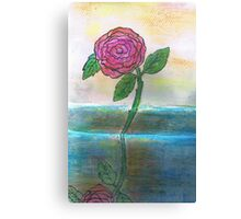 Just One Rose Will Do Canvas Print