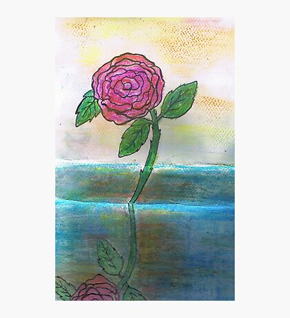 Just One Rose Will Do Photographic Print