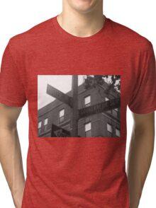 Street Signs #6 Tri-blend T-Shirt