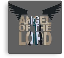 Angel of the lord Canvas Print