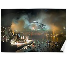 The Carnival Is Over - Sydney New Years Eve 2010 Poster