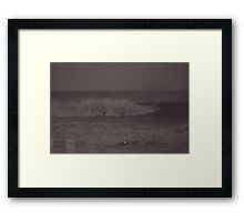 Denbomb Framed Print