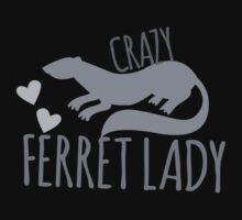 Crazy Ferret lady by jazzydevil