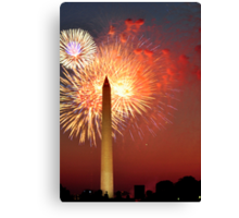 Independence Day on the National Mall Canvas Print