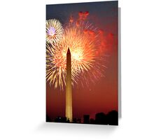 Independence Day on the National Mall Greeting Card