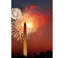 Independence Day on the National Mall Photographic Print