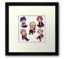 Magical boys! Framed Print