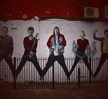 Northern Quarter graffiti by BabyM2