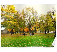 Laidback days of Autumn Poster