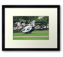 Kent Air Ambulance, England Framed Print