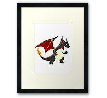 Best dragon not dragon Framed Print