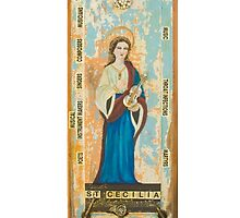 "Saint Cecilia by Sher   ""ESSA"" Chappell"