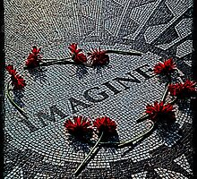 Imagine - The John Lennon Memorial by Chris Lord