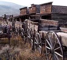 The Town of Cody, Wyoming by Dave Storym