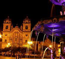 Cusco's Plaza de Armas by Dave Storym
