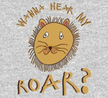 Wanna Hear My Roar? One Piece - Long Sleeve