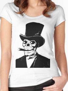 ZombieHIPPY • ABE #2 Women's Fitted Scoop T-Shirt