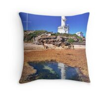 Point Lonsdale Lighthouse - Point Lonsdale, Victoria, Australia Throw Pillow