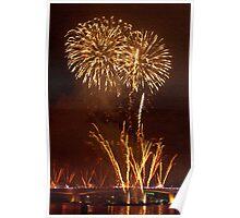 St Johns River Fireworks Poster